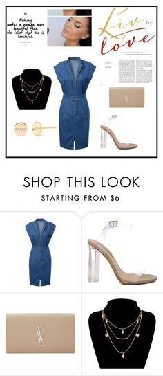 """Untitled #480"" by anusha30 ❤ liked on Polyvore featuring YEEZY Season 2, Yves Saint Laurent and EF Collection"