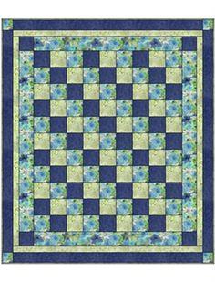 FOUR SQUARE Downloadable 3 Yd Quilt Pattern