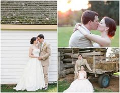 A farm wedding with beautiful details