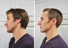 """Used this tutorial to cut Sean's hair Saturday night.  No comments yet on the """"job"""" that was done! DIY haircuts? Why the heck not. 