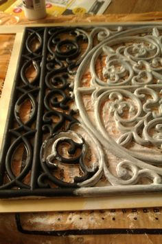 Rubberen deurmat beschilderen voor bovenlicht