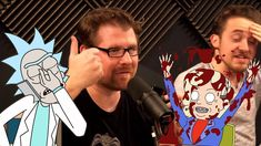 Bringing Rick Sanchez from Rick and Morty, voiced by Justin Roiland, to life during the hilarious podcast prank call to Joel Osteen's Mega Church with t. Justin Roiland, Dan Harmon, Prank Calls, Joel Osteen, Rick And Morty, Pranks, Hilarious, Hilarious Stuff, Funny