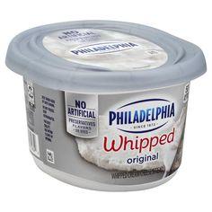 Philadelphia Cream Cheese Spread, Whipped, Original