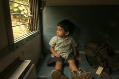 India has one of the largest rail systems in world. Here my oldest nephew Paul watches the world whirl by from an open air window. It's a real treat for a train junkie!