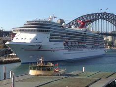 Sydney Carnival Spirit Cruise Ship