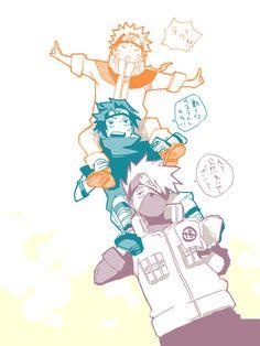 6 Anime Naruto, Naruto Boys, Naruto Family, Naruto And Hinata, Naruto Funny, Naruto Shippuden Anime, Manga Anime, Boruto, Sasunaru
