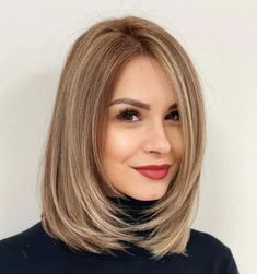 Medium Hair Styles For Women, Haircuts For Medium Hair, Medium Hair Cuts, Straight Hairstyles, Short Hair Styles, Haircut Styles For Women, Women Hair Cuts, Air Dry Hair, Feathered Hairstyles