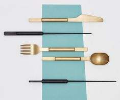 Koichi Futatsumata cutlery for Valerie Objects