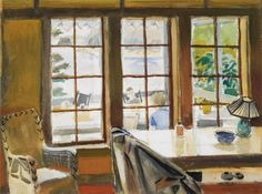 Fairfield Porter, Interior Looking Out