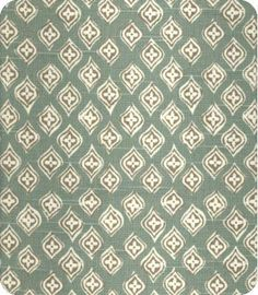 I like small patterns and this is one that I would use on a chair seat. It would fit into a traditional or eclectic space.