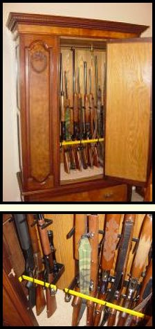 20 Best Vertical Gun Rack Ideas Images Gun Storage Gun