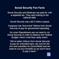 The Federal Government Does Not Fund Social Security Social
