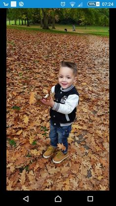 "When the leaves were falling my boy had the ""time of his life"" in the local park, he could spend all day there.... And we do x"
