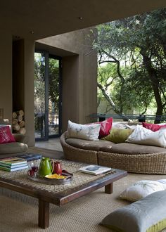 Great patio space