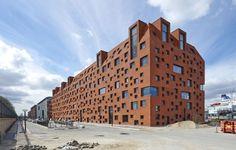 Pakhuset : Flerbrugerhus på Langelinie : Byggeri : Byggeplads.dk