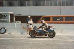 Meine erste begegnung mit der ELF Honda   1981.Foto von Bollwerk59