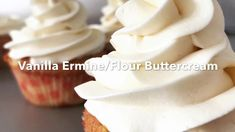 HOW TO MAKE COOKED FLOUR BUTTERCREAM FROSTING- Vanilla Ermine Frosting w...