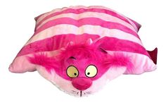 "Disney Pillow Pet - Cheshire Cat Plush 20"" NWT Free Shipping!"