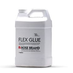 Flex Glue- used with muslin or cheesecloth to cover foam props.  Glue, cloth, glue