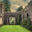 Whalley Abbey, Lancashire by Sandra Cockayne