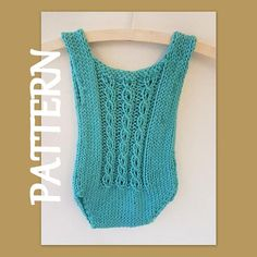 Sitter Size (6 - 12 months) Baby romper knitting PATTERN for you to knit yourself. The knitting pattern is an instant download PDF file This quick-knit baby romper is perfect for your sitter babys photo shoot The mock-cable pattern is a repeat of 4 pattern rows, and is easy to remember. The back of the romper is knitted plain. Skill level : Intermediate knitter : you need to be able to follow pattern instructions, increase and decrease. Yarn: 2 x 50g balls of Elle Family Knit Chunky (9 wr...
