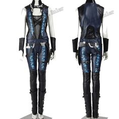 Hallowmas Guardians of the Galaxy Gamora Cosplay Costume Customized Any Size Full Suit