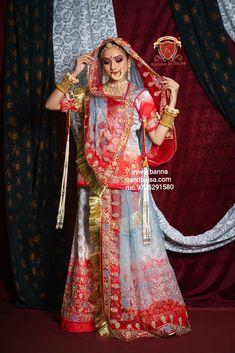 Rajasthani Dress, Bridal Nose Ring, Rajputi Dress, Sari, Asian, Suits, Clothes, Dresses, Saree