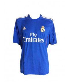 ADIDAS- Camiseta 2ª equipacion Real Madrid. Temporada 2013-2014 671de6f6da5e7