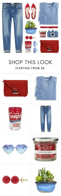 """Untitled #1935"" by tinkertot ❤ liked on Polyvore featuring Andrew Marc, Blair, Frame, Wildfox, Williams-Sonoma, Pori and Dickins & Jones"