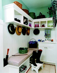mudroom ideas.