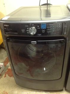 MaxSold - Auction: Amherstview  Downsizing Online Auction -  Maytag Washing Machine