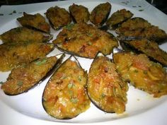Squid Recipes, Tilapia Recipes, Crawfish Recipes, Deli Food, Christmas Dishes, Spanish Food, Mussels, Quinoa Salad, Canapes