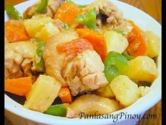 Pininyahang Manok (Pineapple Chicken)