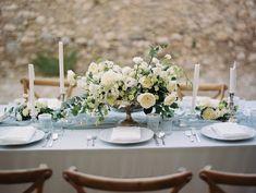 Ruffled - photo by Laura Sponaugle Photography http://ruffledblog.com/modern-greek-goddess-wedding-inspiration · Ruffled