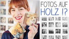 DIY Fotos auf Holz übertragen! super einfach, schnell - Instagram Foto  ...