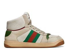 4758f13ef4f GUCCI MENS SCREENER GG HIGH-TOP SNEAKER. THE spring summer 2019 collection  continues to