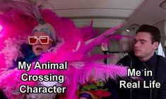 Really Funny Memes, Stupid Funny Memes, Funny Relatable Memes, Hilarious, Animal Crossing Funny, Animal Crossing Characters, Best Memes, Funny Animals, Funny Pictures