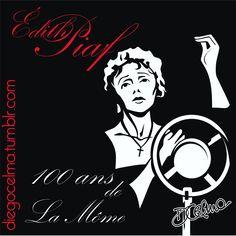 Joyeux anniversaire Édith Piaf #LaMôme #EdithPiaf #chanteuse #francaise #france #parisien #cabaret #musichall #vedette #diva #singer #songwriter #actress #chanson #illustration #illustrationoftheday #happybirthday #100ans #century #drawing #art #artwork #fanart https://www.facebook.com/diegocelmailustrador/