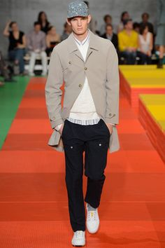 Kenzo Spring 2013 Menswear Collection Slideshow on Style.com
