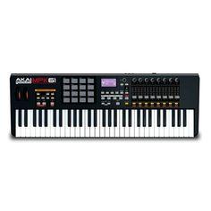 Akai Pro MPK61 61-Key MIDI Controller Keyboard