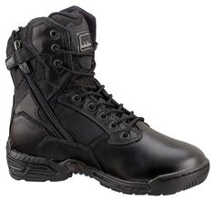 "Magnum 8"" Stealth Force Safety Toe Side Zip #footwear #armynavyoutdoors"