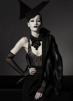 Fashion War: Gothic Fashion of Vogue Italy vs Flair Magazine | Fashion-O-Lic