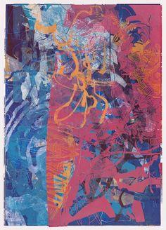 Thomas Dalarud, Sweden /My own woodblock prints on paper, 95 x 65 cm /Visit site: http://www.dalarud.se/woodblock-print.html