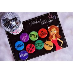 Dotted I Wicked Badges