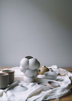 Bjarke Ingels' architecture studio BIG has designed a limited-edition ceramic vase modelled on a giant inflatable art pavilion that it designed in Bjarke Ingels Architecture, Pavilion Design, Giant Inflatable, Web Magazine, Dezeen, Ceramic Vase, Industrial Design, Graphic Design, Create
