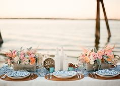 Bringing a Little Sunshine to Your Afternoon: Tropical Vintage Wedding Inspiration! (Featuring Beaches Instead of Barns!)
