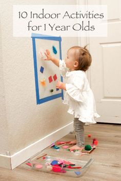 indoor activities for one year olds, Indoor-Aktivitäten für Einjährige. Activities For One Year Olds, Toddler Learning Activities, Games For Toddlers, Infant Activities, Fun Activities, 1year Old Activities, Indoor Activities For Toddlers, 1 Year Old Games, Diy Toys For 1 Year Old