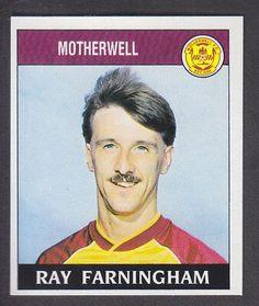 Ray Farningham of Motherwell - Football 89 - Panini - English & Scottish Leagues Football Season, Panini, Baseball Cards, Ebay