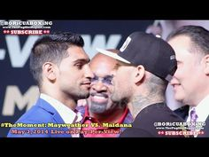 AMIR KHAN VS. LUIS COLLAZO Final Press Conference & FACE-OFF!!! (VIDEO)