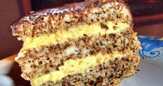 Cel mai bun tort pe care l-am mâncat vreodată Romanian Desserts, Romanian Food, Sweets Recipes, Cake Recipes, Cooking Recipes, Best Cake Flavours, Good Food, Yummy Food, Sweet Cakes